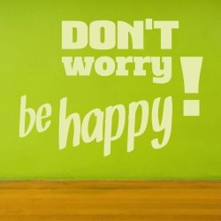 don\'t worry be happy 1719 naklejka