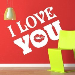 I love you 1714 naklejka