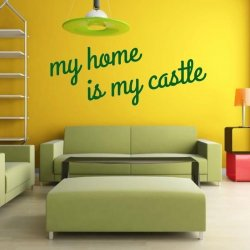 my home is my castle 1721 naklejka