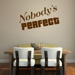 nobody\'s perfect 1730 naklejka
