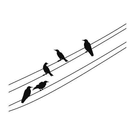 Ptaki 1066 Szablon Malarski Deco Strefa