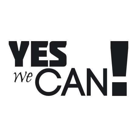 Yes we can 1722 naklejka deco strefa for Bett yes we can